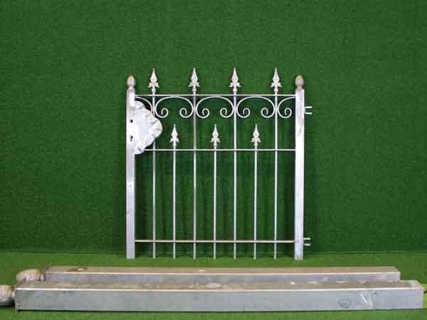 Eisentür Angebot 89-1 in massiver Stahlbauweise - Breite: 107cm, Höhe: 109cm