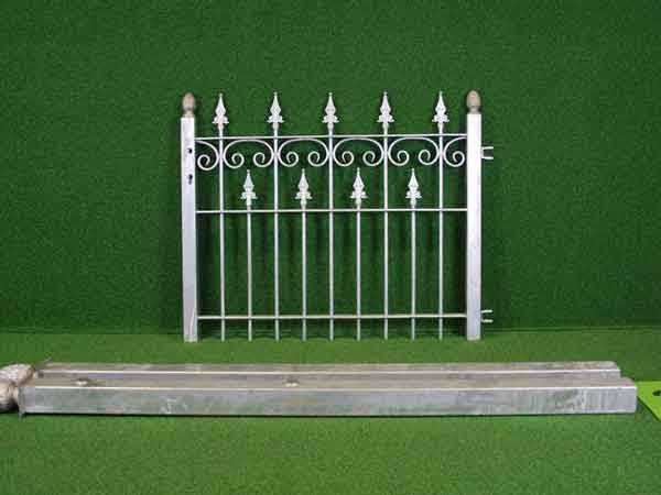 Metalltür Angebot 73-6 in massiver Stahlbauweise - Breite: 110cm, Höhe: 88cm