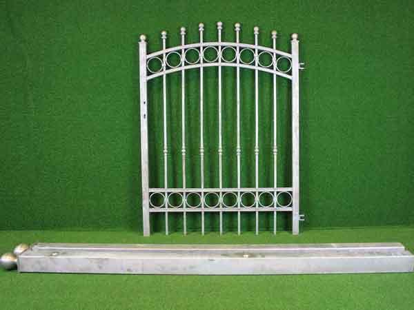 Eisentür Angebot 178-1 in massiver Stahlbauweise - Breite: 121cm, Höhe: 151cm